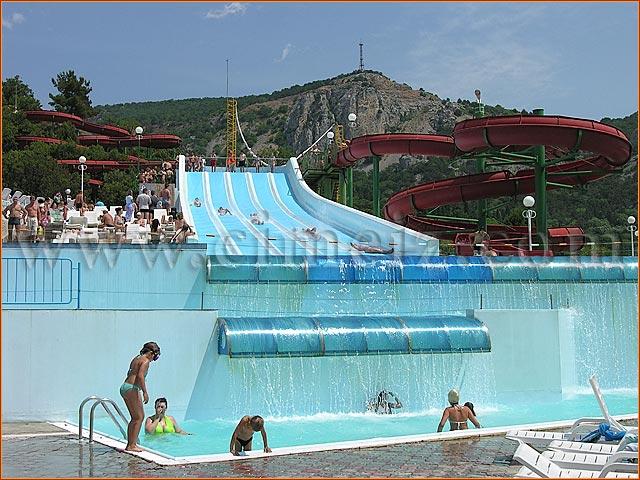 Бухта Мечты, Ласпи - аквапарк в Симеизе