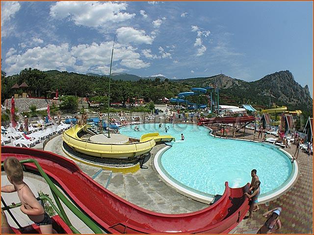 аквапарк в Симеизе: отдых в Бухте Мечты, Ласпи - отдых в Кырму