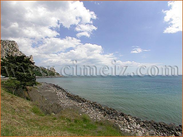 гостиница Голубой Залив Крыма, пляж 2