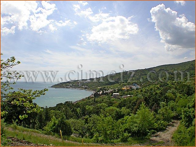 гостиница Голубой Залив Крыма, вид на залив